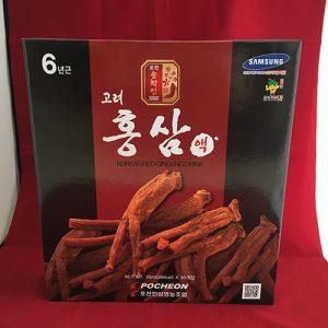 Công dụng của nước hồng sâm Hàn Quốc Pocheon hộp 30 gói