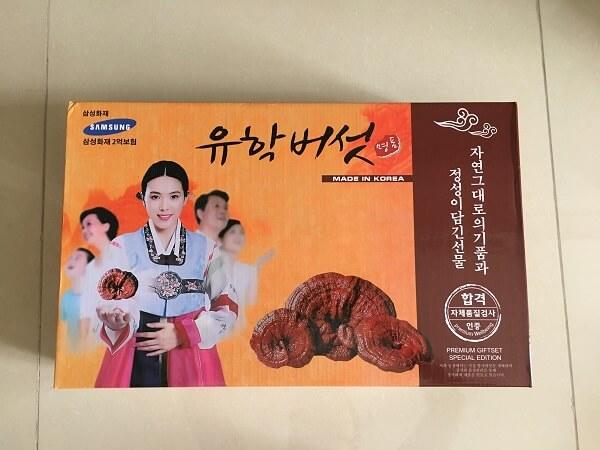 nấm linh chi 3 cô gái Hàn Quốc