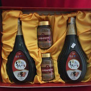 Nước Hồng Sâm và các loại thuốc quý Hàn Quốc (2 chai)