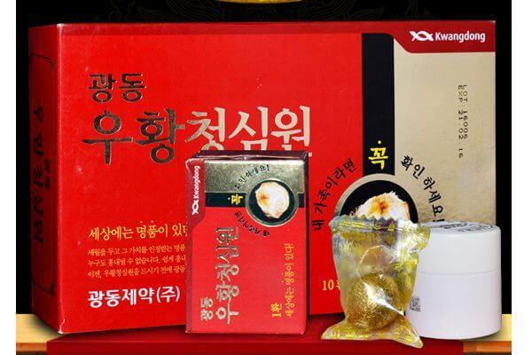 An cung ngưu Hoàng hoàn Hàn Quốc phòng chống đột quỵ