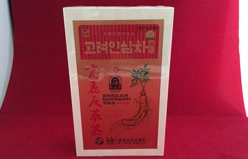 Chè sâm Hàn Quốc được nhiều người ưa chuộng