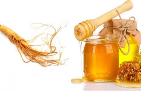 cách ngâm sâm tươi với mật ong