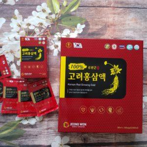 nước hồng sâm jeongwon hàn quốc 30 gói