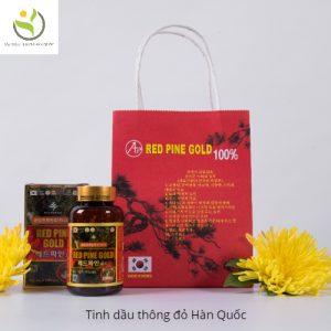 Tinh Dầu Thông Đỏ Hàn Quốc Red Pine Gold 100 Viên