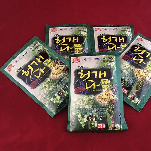 thuốc bổ gan giải rượu Hàn Quốc Hovenia Dulcis
