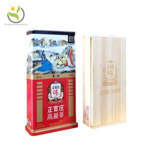 Hồng sâm củ khô 6 năm tuổi KGC 20PCS 300g 20 củ hộp thiếc-hồng sâm Chính phủ Cheong Kwan Jang