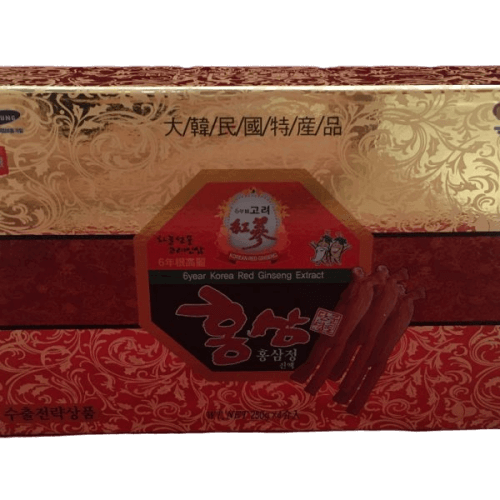 Cao Hồng Sâm Hàn Quốc 6 Tuổi Hộp 4 Lọ x 240g