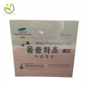 Đông Trùng Hạ Thảo Hàn Quốc hộp gỗ 60 gói