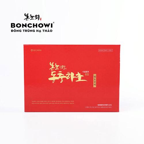 đông trùng hạ thảo chiết xuất lên men bonchowi