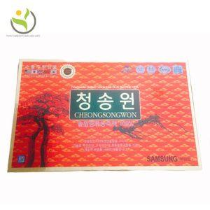 Tinh Dầu Thông Đỏ Hàn Quốc CheongSongWon 180 Viên