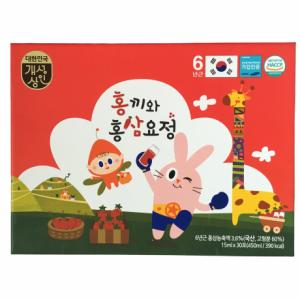 Hồng Sâm Baby Hàn Quốc Hongki hộp 30 gói x 15ml