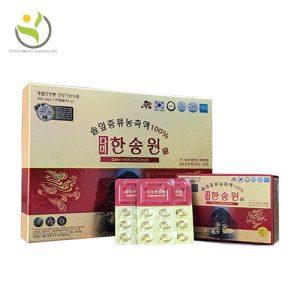 Tinh Dầu Thông Đỏ Hàn Quốc Dami Hansongwon hộp 120 viên