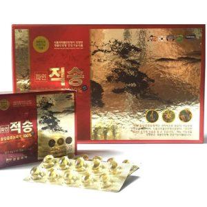 Tinh Dầu Thông Đỏ Chính Phủ Hàn Quốc 120 viên