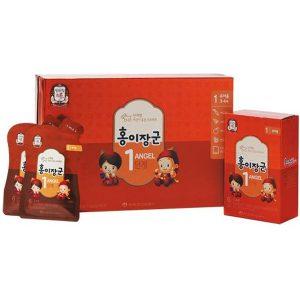 Hồng sâm KGC cao cấp cho trẻ hộp 30 gói x 20ml
