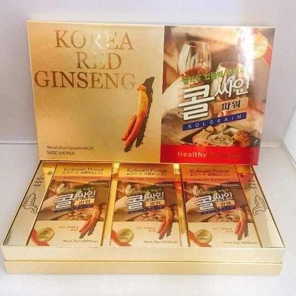 Nước uống bổ gan giải rượu bia Hàn Quốc