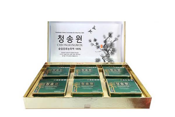 Dầu thông đỏ Cheongsongwon