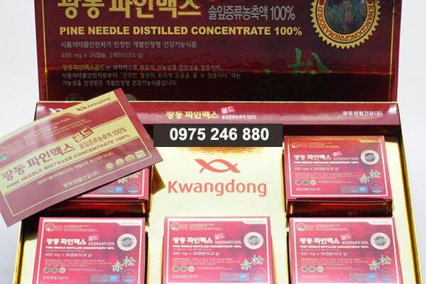 dầu thông Kwangdong