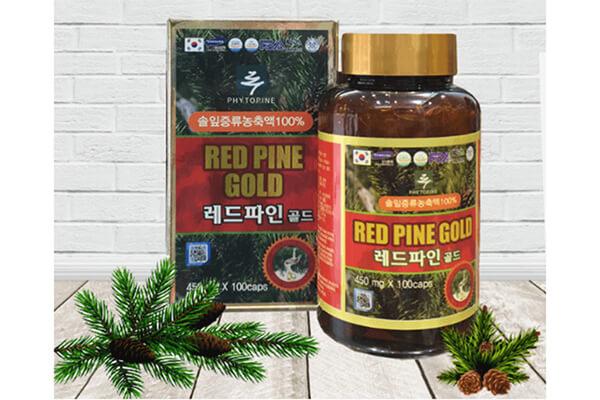 dầu thông đỏ Hàn Quốc