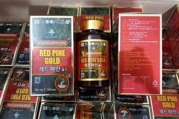 Tinh dầu thông đỏ Hàn Quốc giá bao nhiêu?