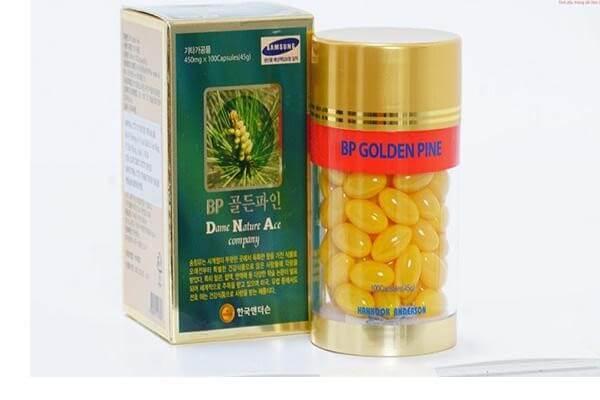 Cách dùng dầu thông đỏ BP Golden Pine