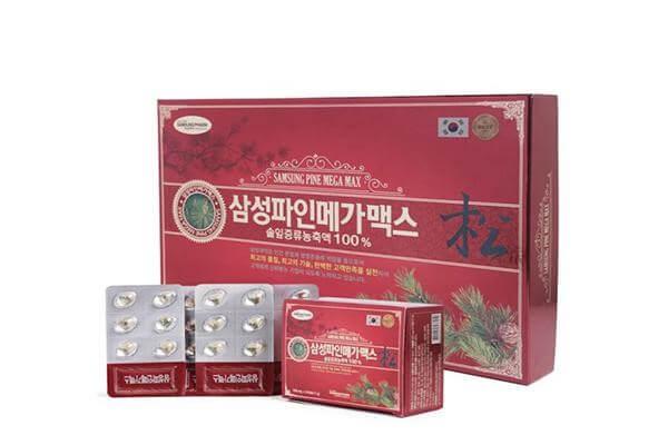 uống dầu thông đỏ Hàn Quốc có bị dị ứng