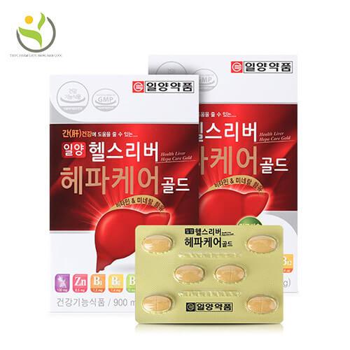 Thuốc bổ gan và giải độc gan Hàn Quốc