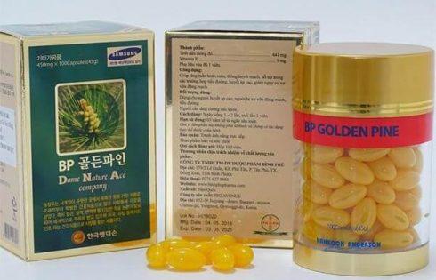 Tinh dầu thông đỏ BP Golden Pine – Thực phẩm bổ sung dưỡng chất cho bạn mỗi ngày