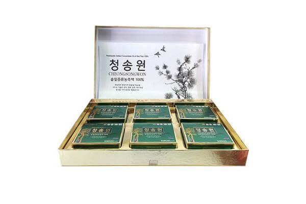 tinh dầu thông đỏ Hàn Quốc Cheongsongwon
