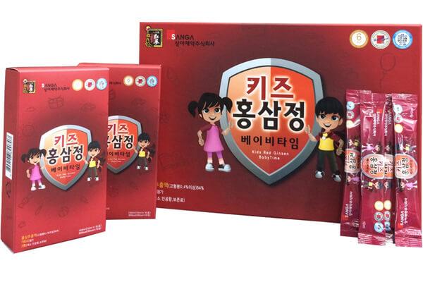Mua nước hồng sâm Hàn Quốc dành cho trẻ em cần lưu ý điều gì?