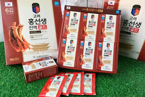 Nước hồng sâm Hàn Quốc Daehan – Sản phẩm được người Việt yêu thích nhất