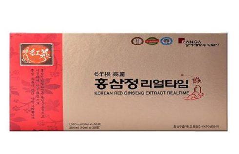 Giá nước chiết xuất hồng sâm Hàn Quốc 6 năm mới nhất?