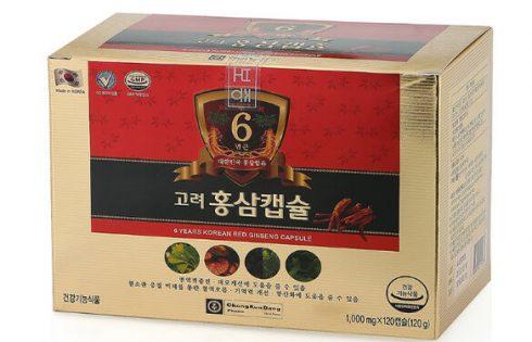Nước hồng sâm Hàn Quốc 6 năm tuổi Chong Kun Dang mua ở đâu chất lượng?