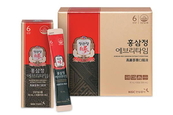 Cao hồng sâm Hàn Quốc dạng gói nguyên chất