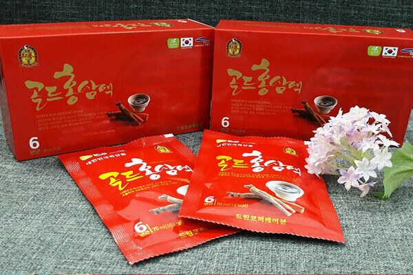 Địa chỉ  mua nước uống hồng sâm Korean Red Ginseng
