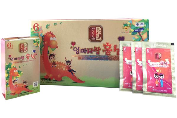 Đối tượng sử dụng nước hồng sâm Hàn Quốc Baby Pocheon
