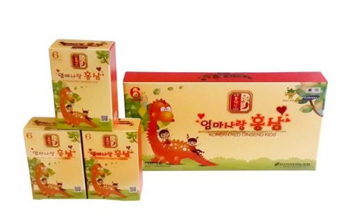 Nước hồng sâm Baby Pocheon Hàn Quốc sản phẩm được nhiều bà mẹ tin dùng