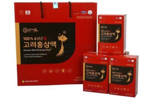 Nước hồng sâm Hàn Quốc Jeong Won và 9 tác dụng thiết thực với sức khỏe