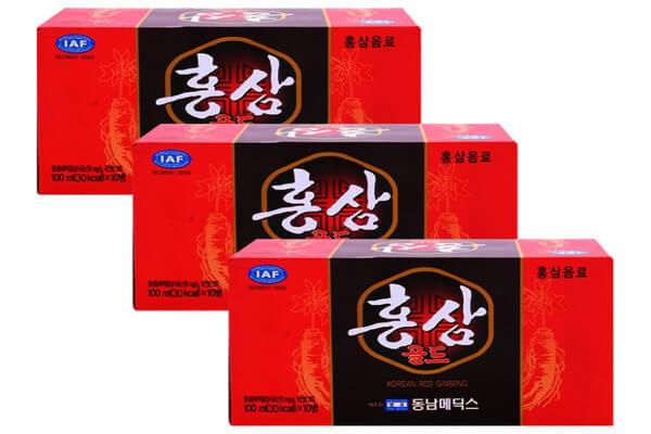 Nước hồng sâm Hàn Quốc Samsung tốt cho hệ tiêu hóa