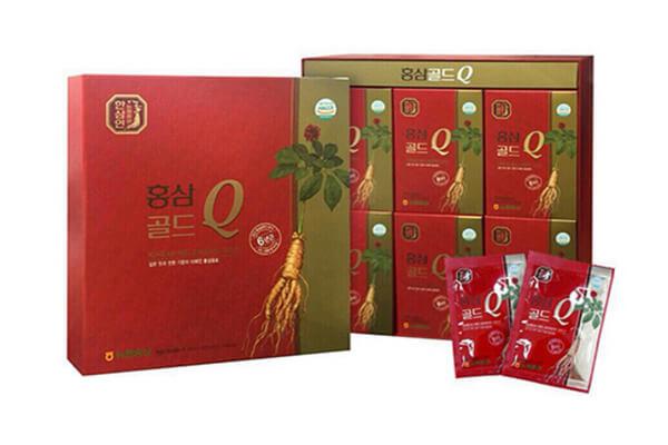 Cách sử dụng hồng sâm nước Hàn Quốc hộp 30 gói