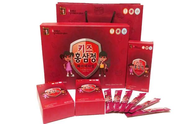 Hồng sâm Baby Sanga Hàn Quốc sản phẩm chất lượng cho trẻ