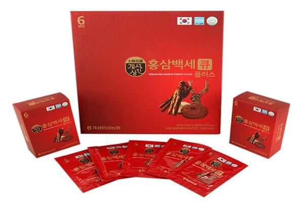 Nước hồng sâm linh chi Hàn Quốc và một số thông tin cơ bản
