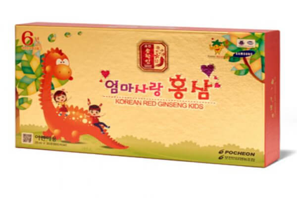 Hồng sâm Pocheon cho bé - Sản phẩm được nhiều phụ huynh chọn lựa