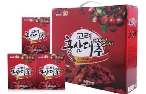 Hồng sâm táo đỏ Hàn Quốc – Sản phẩm đặc biệt tốt cho sức khỏe