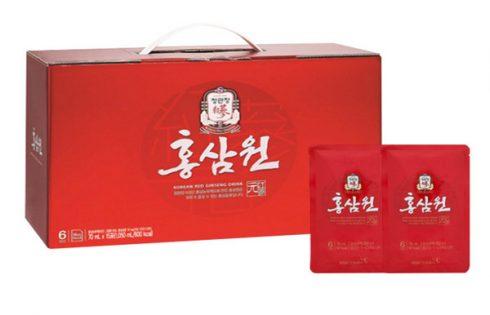 Hộp nước sâm Hàn Quốc thích hợp với đối tượng nào?