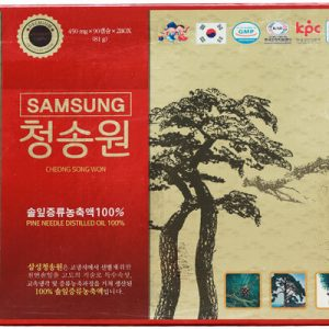 Tinh dầu thông đỏ Cheongsongwon Premium hộp 120 viên