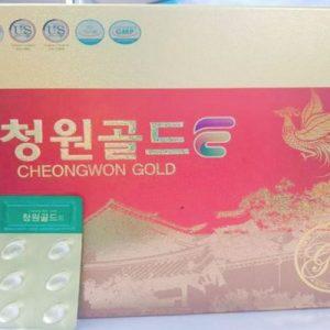 Tinh dầu thông đỏ Cheongwon Gold Hộp 120 viên